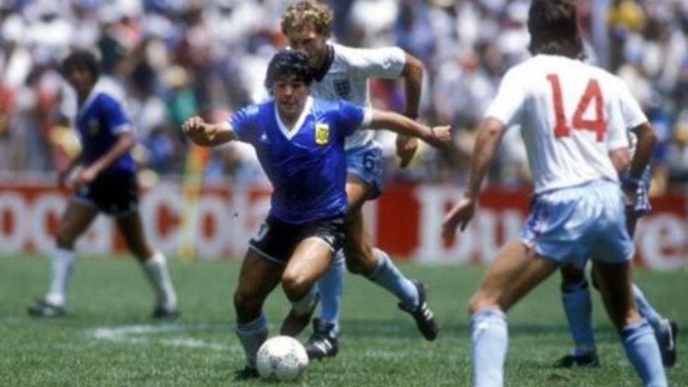 Maradona guió a Argentina al triunfo ante Inglaterra |Foto: infobae