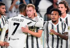 Juventus goleó por 3-0 a Sampdoria por la Serie A de Italia, con gol de Cristiano