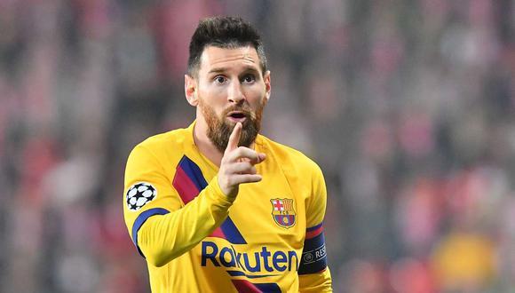 Lionel Messi, el astro argentino la figura de Matchday Dentro del FC Barecelona de Netflix. (Foto: AFP / Video: AS)