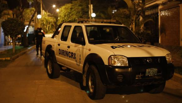 Los detenidos fueron llevados a la sede de la Dirincri de la Av. España para las diligencias del caso | Foto: César Bueno @photo.gec