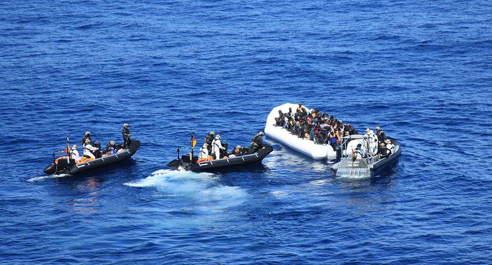 Alertan que puede haber 100 desaparecidos en el mar tras naufragio en Libia. (Foto referencial, AFP).