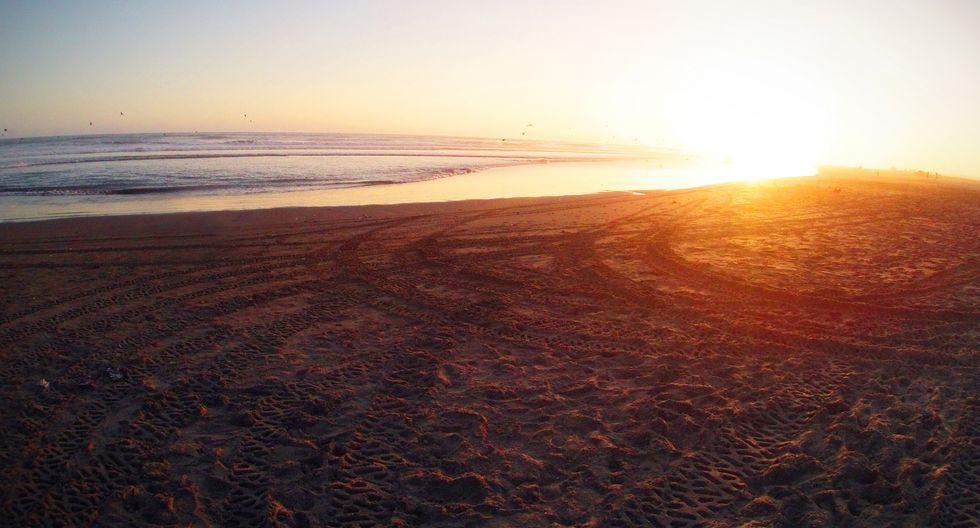 El atardecer en las playas de Camaná es un espectáculo que tienes que disfrutar. (Foto: PromPerú)