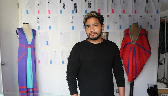 Diseñador Genaro Rivas presenta nueva colección futurista