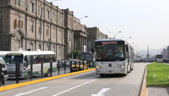 Las unidades del Metropolitano circularán en horario especial este jueves. (Foto: Difusión)