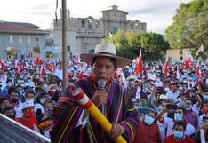 """Pedro Castillo: """"Me voy a pronunciar en la medida que las autoridades electorales nos arrojen los resultados"""""""