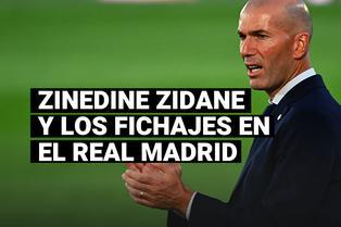 La contundente frase de Zinedine Zidane sobre los fichajes en el Real Madrid