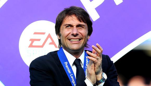 Antonio Conte conquistó la Premier League con el Chelsea en la presente temporada. De los 38 partidos disputados ganó 30. (Foto: Getty Images)
