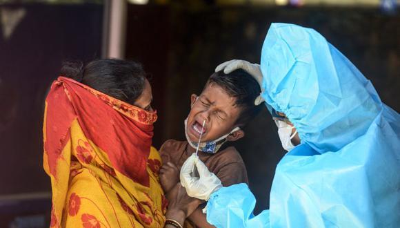 Coronavirus en India | Últimas noticias | Último minuto: reporte de infectados y muertos hoy, domingo 30 de agosto del 2020 | Covid-19 | (Foto: DIPTENDU DUTTA / AFP).