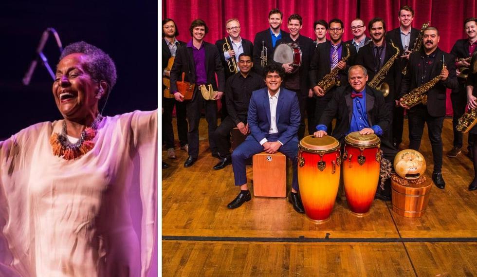 Susana Baca, Araceli Poma de Just Play Perú, Alerta Rocket y Afro-Peruvian Jazz Orchestra  son los nominados. (Foto: Instagram @susana__baca / Captura de pantalla YouTube).
