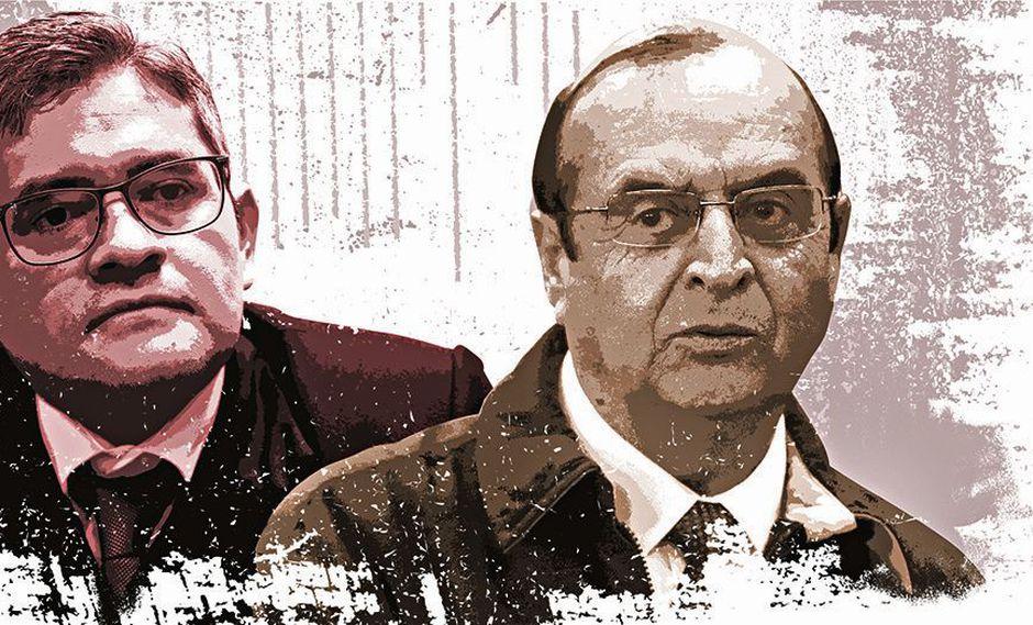 El fiscal José Domingo Pérez interrogará a Vladimiro Montesinos el 24 de setiembre del 2019 desde las 10 a.m. (Foto: Archivo El Comercio)