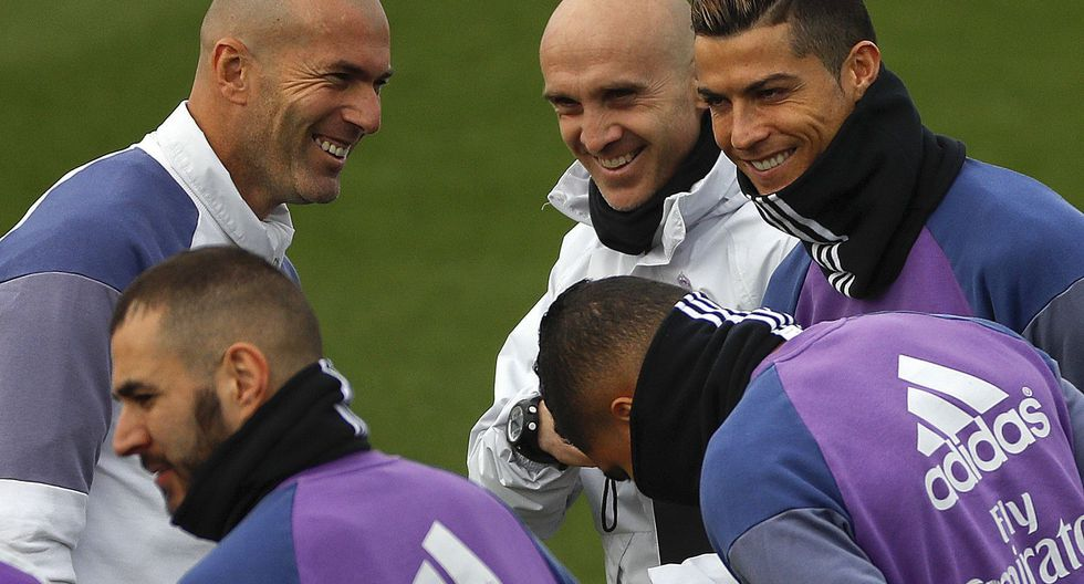 Real Madrid: Zinedine Zidane se refirió a la situación de Cristiano Ronaldo. (Foto: EFE)