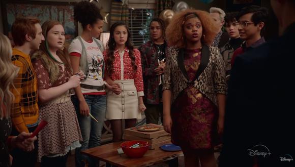"""Cada viernes se estrena un nuevo episodio de la segunda temporada de """"High School Musical: El Musical: La Serie"""" por Disney+. (Foto: Captura de video)"""