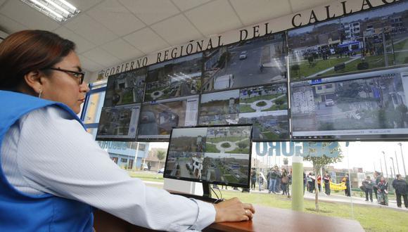 Las cámaras de seguridad serán instaladas en diversas zonas del Callao. (Foto: referencial)