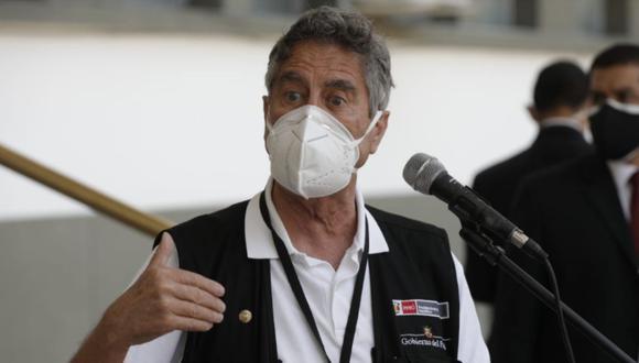 El presidente Francisco Sagasti alertó que existen personas inescrupulosas que intentan traficar con vacunas falsas contra el COVID-19. (Foto: Andrés Paredes / @photo.gec)