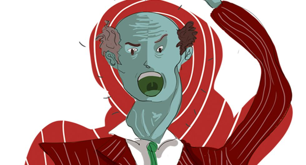 """""""Los efectos y daños de la intolerancia se tornan indiscutiblemente mayores en las alturas del poder, por el grado de alcance que este tiene sobre millones de personas"""". (Ilustración: Giovanni Tazza)."""