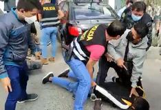 Comas: dos delincuentes fueron capturados cuando asaltaban una casa de apuestas | VIDEO