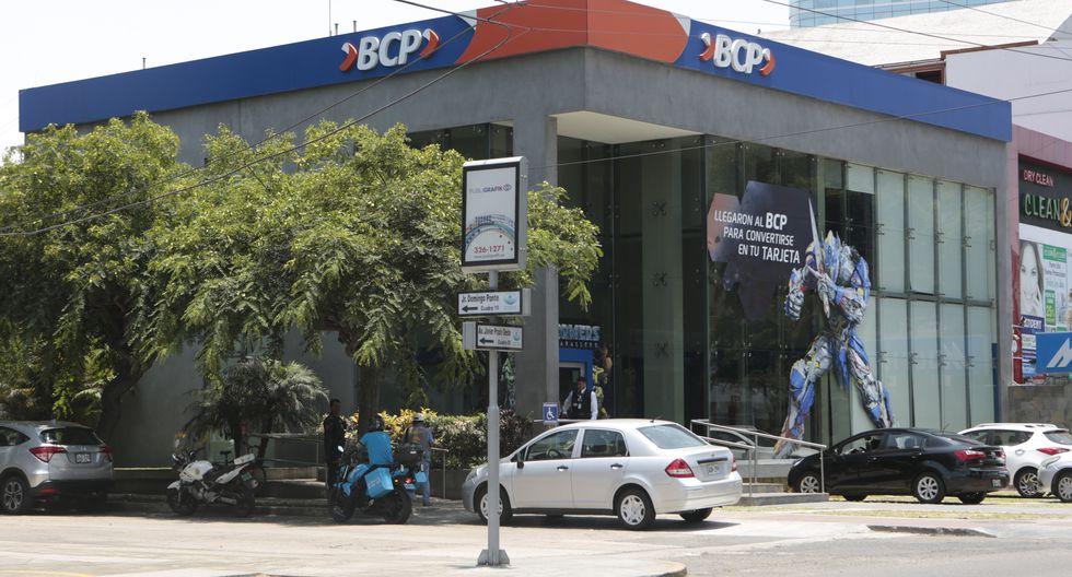 La aplicación móvil y la página web del BCP presenta problemas. (Foto: GEC)