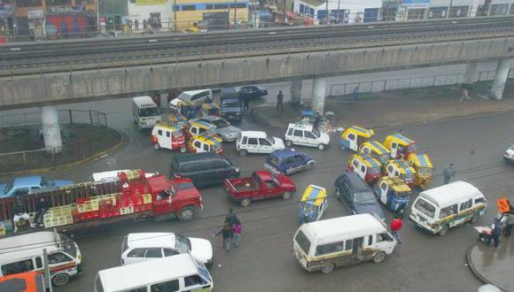La congestión vehicular es uno de los principales problemas que afecta a los limeños.