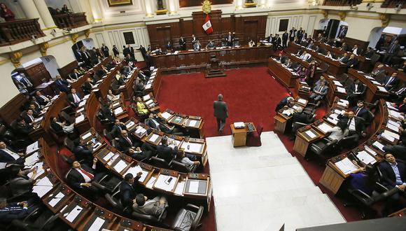 El 66% señala que el Parlamento, que es manejado por la bancada de Fuerza Popular, blinda a los parlamentarios que tienen cuestionamientos éticos. (Foto: Archivo El Comercio)