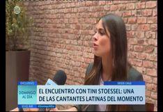 """Tini Stoessel sobre Yatra: """"Yo lo amo con todo mi corazón, lo admiro como persona"""""""
