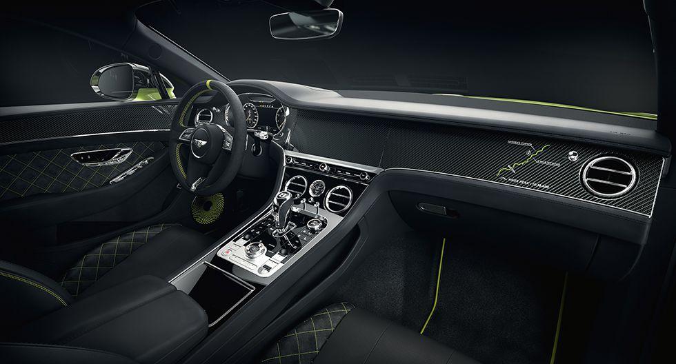 El Bentley con motor W12 trepó casi 5,000 pies a través de 156 curvas en solo 10 minutos y 18.4 segundos. (Foto: Bentley)