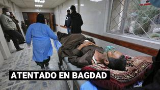 Doble atentado suicida deja decenas de muertos en Bagdad