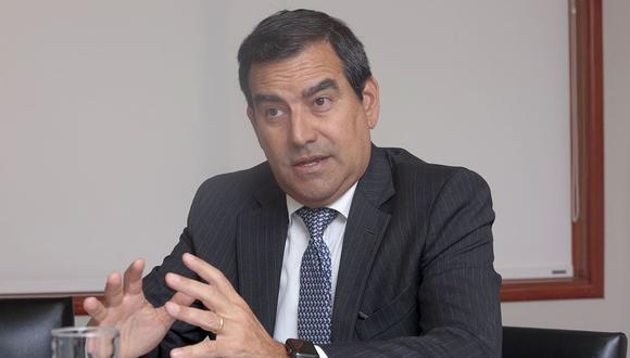 Óscar Caipo Ricci, presidente de la Confiep. (Foto: Diana Chávez / Archivo GEC)