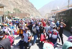 Coronavirus en Perú: 1.043 personas que estuvieron varadas llegaron a Huancavelica