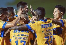 Tigres UANL venció por 2-1 a Toluca y está en los cuartos de final del Apertura de Liga MX