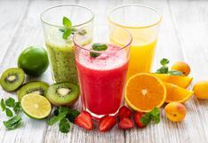 Verano: tres bebidas naturales, refrescantes y deliciosas para combatir el calor