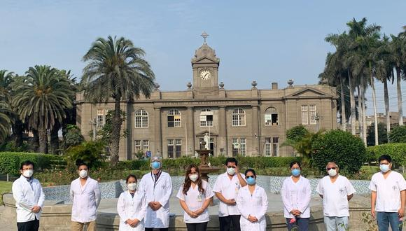 Servicio de Inmunoreumatología del hospital Loayza, liderado por la doctora Irene Martínez. (Foto: EC)