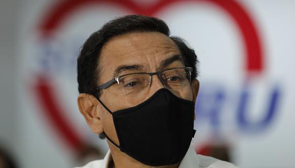 Martín Vizcarra dijo que presentará una acción de amparo ante el Poder Judicial. (Foto: GEC)
