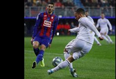 Hazard y una rabona de escándalo: el lujo en la goleada del Real Madrid luego de hacer un túnel de taco | VIDEO