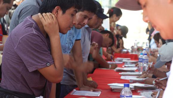 Jóvenes deben optar siempre por el empleo formal. (Foto: GEC)