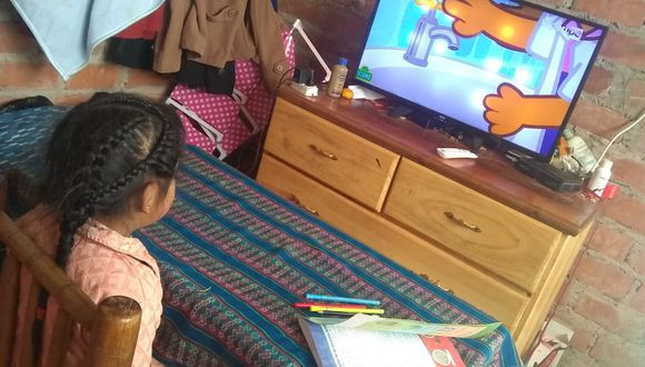 En Áncash, al menos 270 mil alumnos de los tres niveles educativos seguirán recibiendo clases virtuales. (Foto: Cortesía)