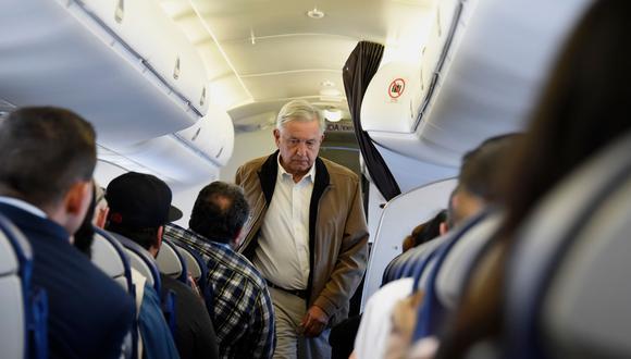 México: AMLO gastó en 15 vuelos lo que Peña Nieto en uno. Foto: AFP