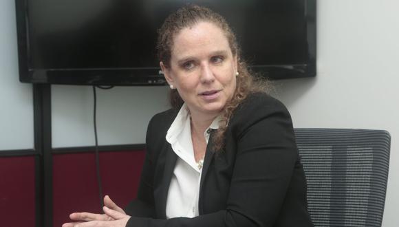 Claudia Cooper, presidenta del directorio de la Bolsa de Valores de Lima (BVL). (Foto: GEC)