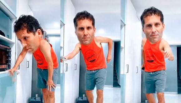 Mira cómo se divierte Leao Butrón en su casa. (Captura)