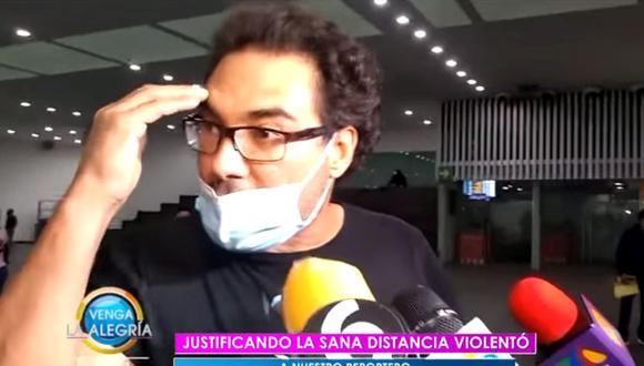 Eduardo Yánez se vuelve a pelear con la prensa (Foto: Venga la alegría)