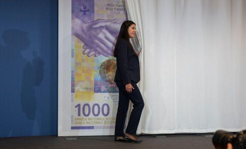 El lanzamiento del billete de 1.000 francos fue todo un acontecimiento.