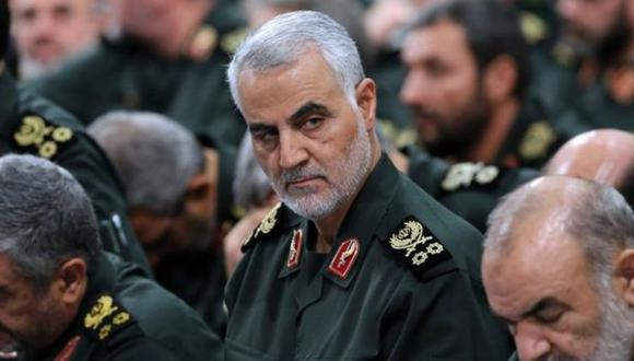 El general iraní Qasem Soleimani era ampliamente visto como el arquitecto de la influencia iraní en el Oriente Medio. (Getty Images).