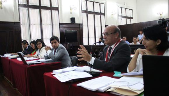 El fiscal Jesús Fernández detalló los casos que involucran el cambio de tipificación penal. (Foto: Poder Judicial)