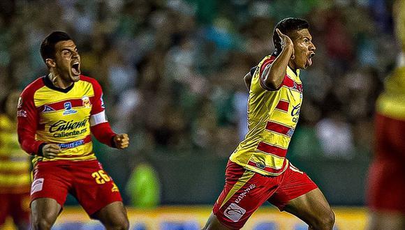 Edison Flores anotó su tercer gol en la liguilla mexicana con Morelia. (Foto: Agencias)