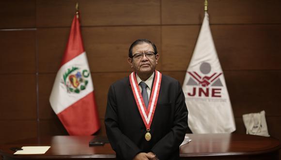 Salas Arenas pidió a los medios de comunicación que mantengan una cobertura imparcial, neutral y equitativa. (Foto: Archivo GEC)