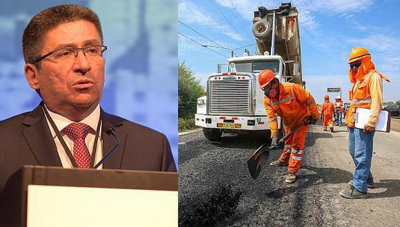 Perea proyectó que el sector construcción se expandirá 7% en el 2019. (Fotos: USI)