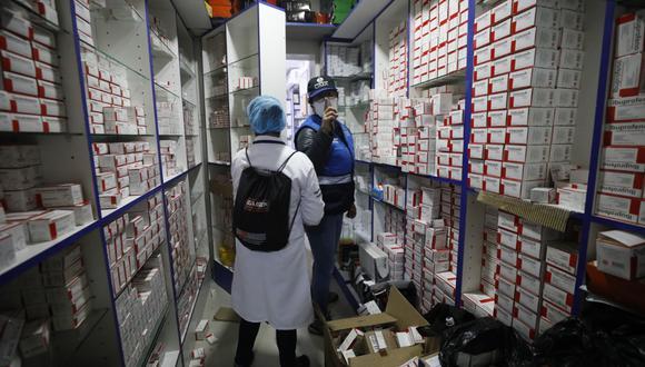 Las farmacias deberán informar sobre el stock de sus medicamentos. (Foto: Diana Marcelo   GEC)