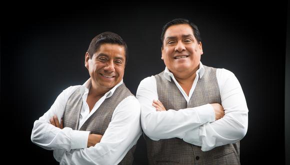 Walter y Javier, fundadores de la orquesta Los Hermanos Yaipén.