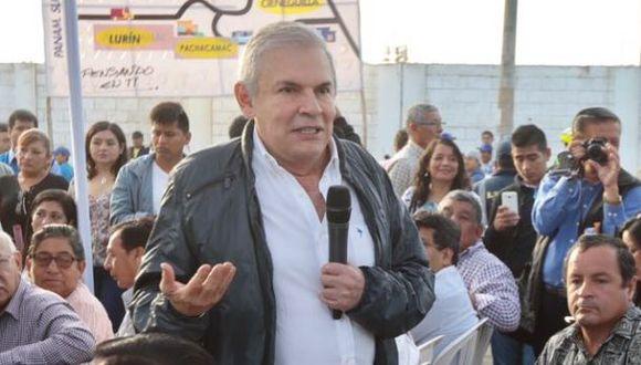 Luis Castañeda Lossio participó del inicio de obras de la carretera que unirá la Panamericana Sur con Manchay.(Municipalidad de Lima)