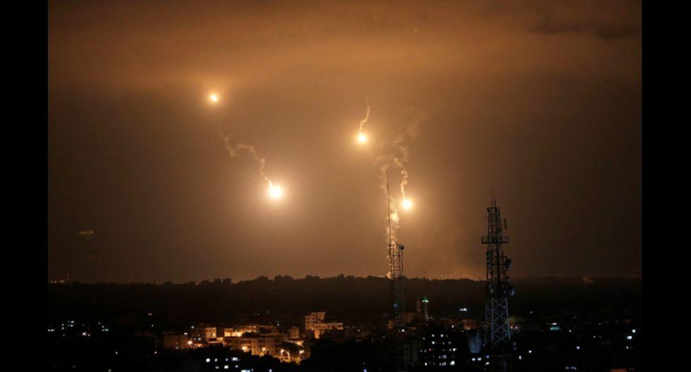 Israel bombardea 150 objetivos en la peor noche para Gaza