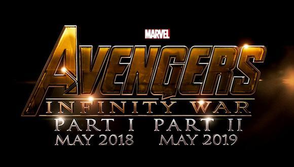 """""""Avengers: Infinity War Parte 1 y 2"""" recibirán nuevos títulos"""